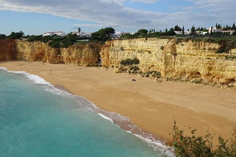 Strandwandeling Algarve