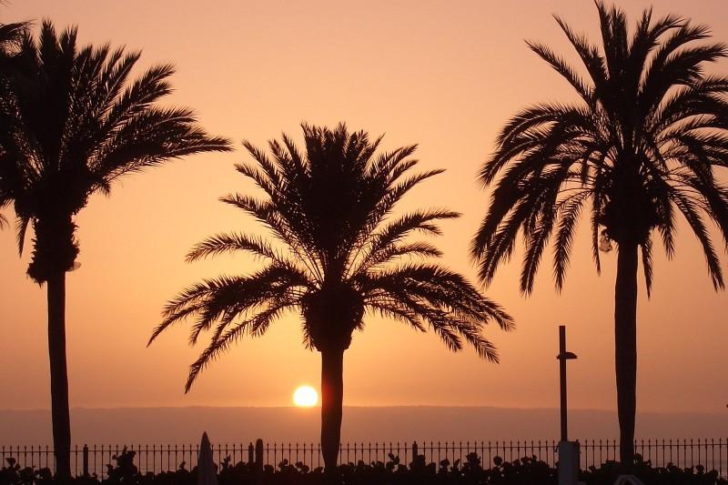 Zonsondergang Algarve